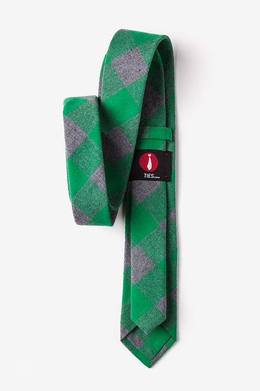 Kent Green Skinny Tie Photo (2)