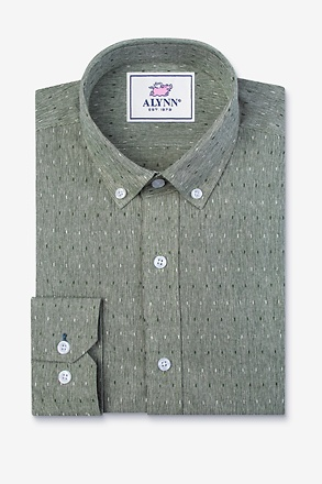 _Mason Green Classic Fit Casual Shirt_