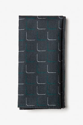 Mesa Green Pocket Square