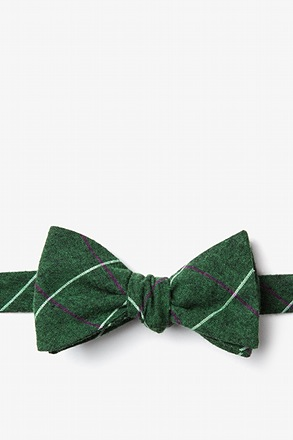 _Phoenix Green Self-Tie Bow Tie_