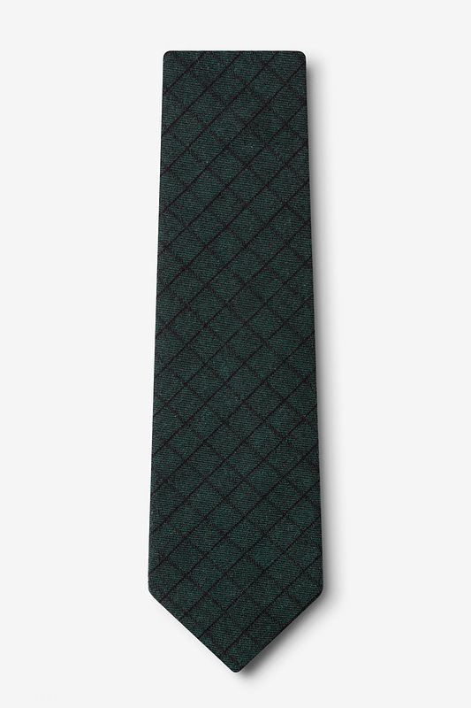 San Luis Green Extra Long Tie Photo (1)