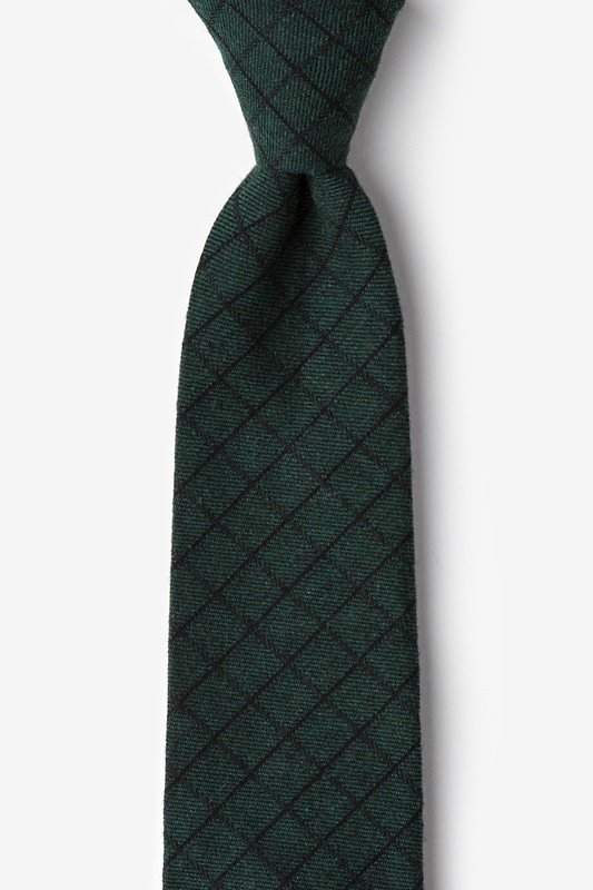 San Luis Green Extra Long Tie Photo (0)