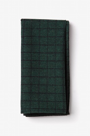_San Luis Green Pocket Square_