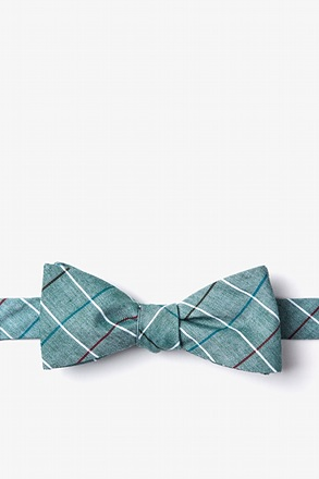_Seattle Green Skinny Bow Tie_