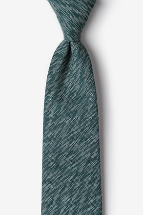 Springfield Green Extra Long Tie