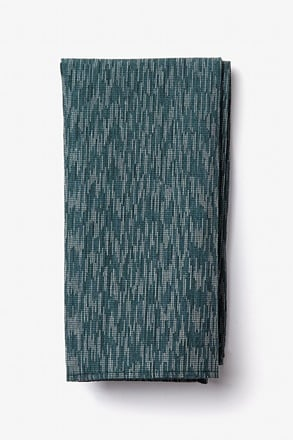 _Springfield Green Pocket Square_