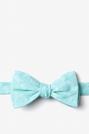 Tacoma Green Self-Tie Bow Tie