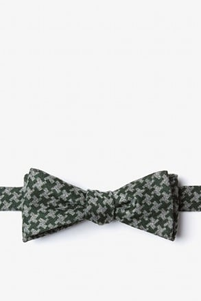 Tempe Green Skinny Bow Tie