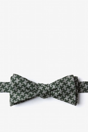 _Tempe Green Skinny Bow Tie_