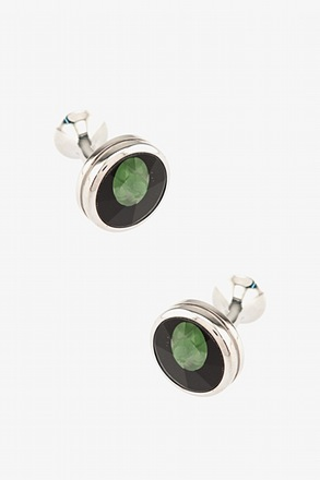 Enclosed Orbs Cufflinks
