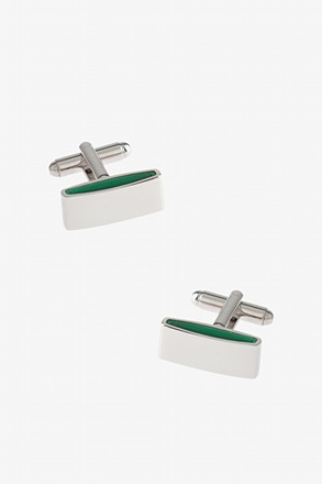 Solid Side Bar Cufflinks