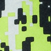 Green Microfiber Camouflage Digital Extra Long Tie