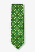 Celtic Checkers Tie