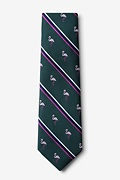 Flamingo Stripe Tie Photo (1)