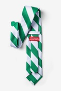 Green & White Stripe Tie Photo (1)