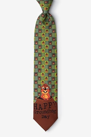 Groundhog Day Tie