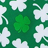 Green Microfiber Lucky Find Tie