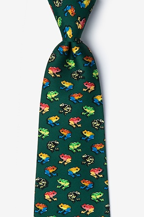 Rainforest Frogs Tie