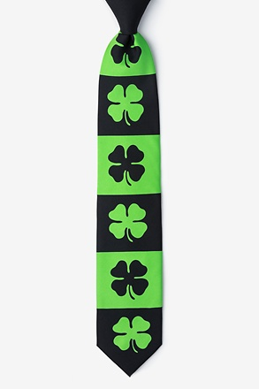 _Shamrock Green Extra Long Tie_
