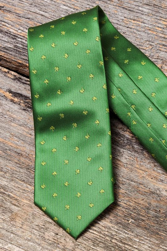 Shamrocks Tie Photo (2)
