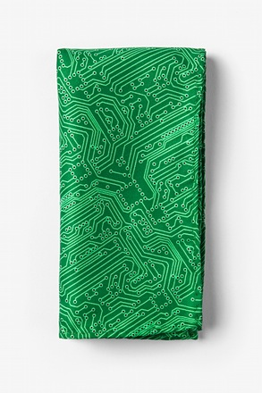 The Circuit Board Pocket Square