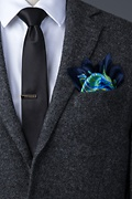 Sigmund Green Pocket Square