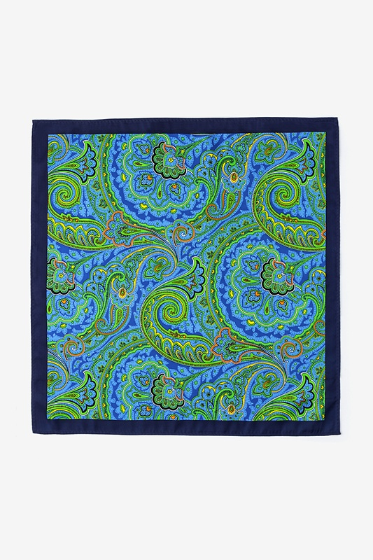 Sigmund Green Pocket Square Photo (1)