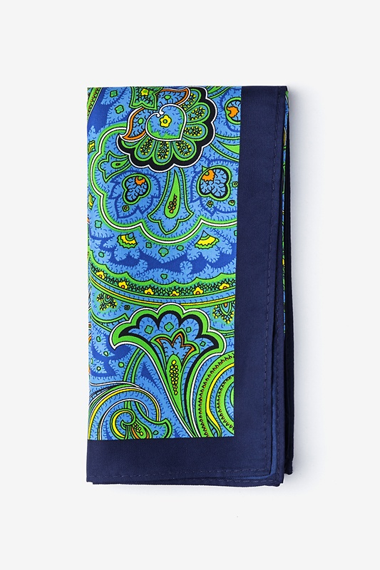 Sigmund Green Pocket Square Photo (0)