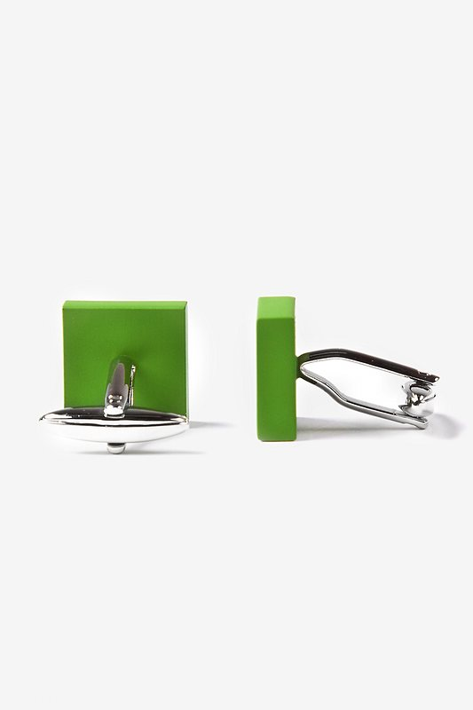 Matte Square Solid Cufflinks Photo (2)