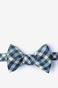 Green Silk Bora Bora Self-Tie Bow Tie