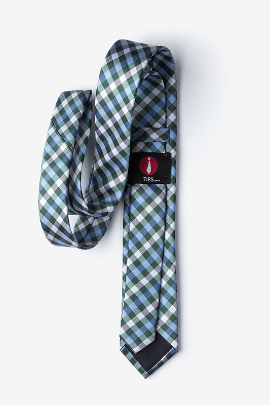 Bora Bora Green Skinny Tie Photo (1)