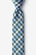 Bora Bora Green Skinny Tie Photo (0)