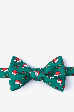 Christmas Caps Bow Tie