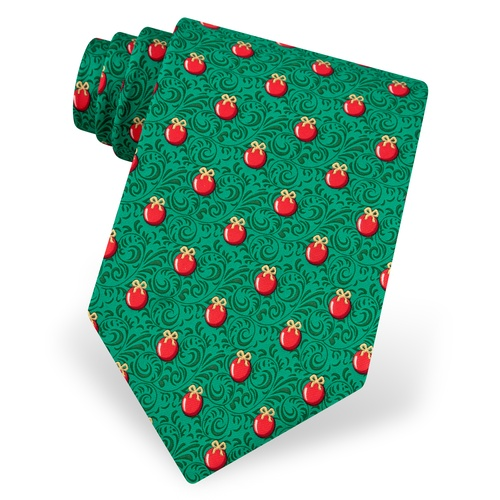 Deck The Halls Tie by Alynn Novelty