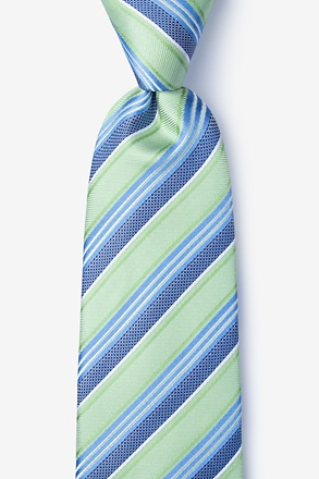 Feale Green Extra Long Tie