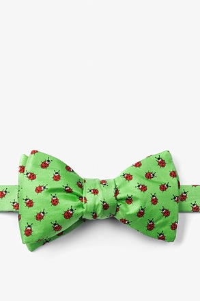 Gentlemen Bugs self tie bowtie Green Self-Tie Bow Tie