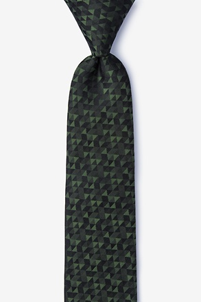 _Harrington Green Skinny Tie_