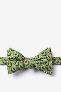 Green Silk If the Shoe Fits Self-Tie Bow Tie