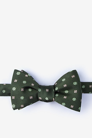 Monkey Green Self-Tie Bow Tie