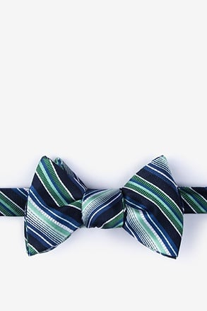 Moy Green Self-Tie Bow Tie