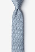 Oak Green Skinny Tie Photo (0)
