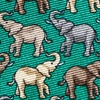 Green Silk Pack O' Pachyderms Tie