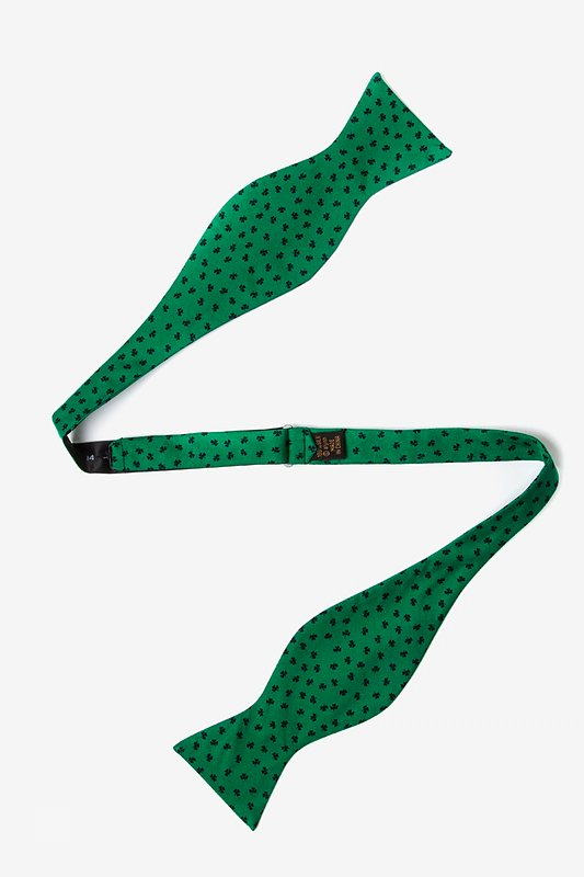 Shamrocks Self-Tie Bow Tie Photo (1)