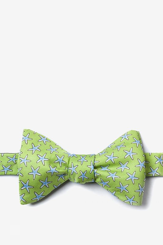Starfish Self Tie Bow Tie by Alynn Bow Ties