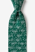 The Art of the Game Green Extra Long Tie Photo (0)