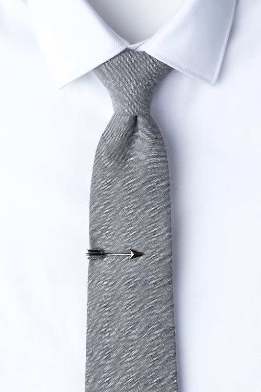 Arrow Gunmetal Tie Bar Photo (1)