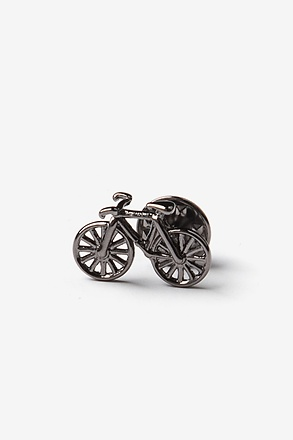 _Bicycle Gunmetal Lapel Pin_