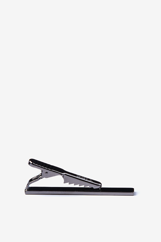 Executive Clasp Gunmetal Tie Bar