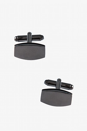 Simple Rounded Rectangle Cufflinks