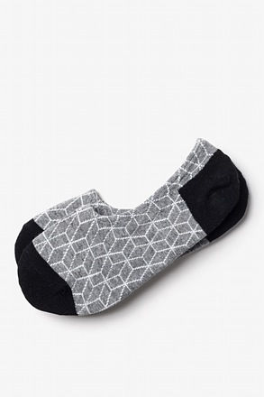_Fontana Heather Gray No-Show Sock_